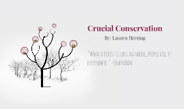 Critical Conservation