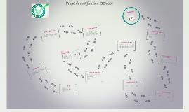Copy of Projet de certification ISO 9001