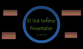 EI Sac 4 Oral Presentation