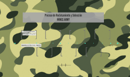 Proceso de Reclutamiento y Selección WINGS ARMY