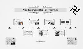 Nazi Germany: Der Untermensch by Juan Leal, Cruz Schlegel, and Gunnar Schlegel