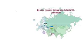 Country Comparison: Estonia V.S. Uzbekistan