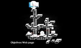 Objetivos Web page