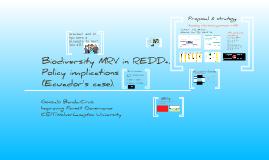 Biodiversity MRV