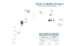 B371 Web Usability Project