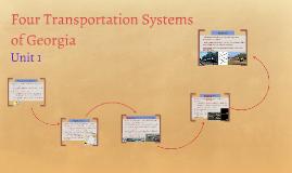 Four Transportation Systems of Georgia