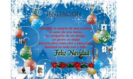 INVITACION NAVIDAD 2015