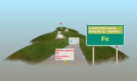 """Carretera hacia rancho el """"Hierro"""""""