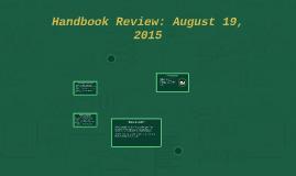 August 19 2015 Handbook
