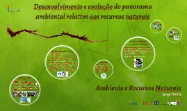 Desenvol. panorama amb. - Ambiente e Recursos Naturais