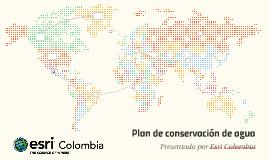 Plan de conservación de agua