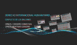 DESMEMBRAMIENTO DE LA REPÚBLICA FEDERAL SOCIALISTA DE YUGOSL