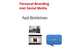 Personal Branding in de Sport met Social Media
