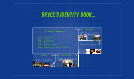 Bryce's identity book...