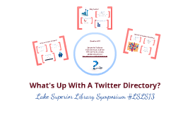 What's Up With A Twitter Directory?