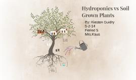 Untitled prezi by kieston guidry on prezi for Soil vs hydro