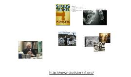 Studs Terkel - Working