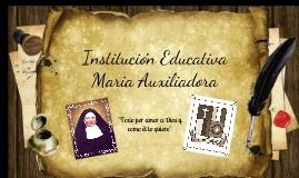 I.E Maria Auxiliadora