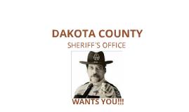 DCSO Recruit