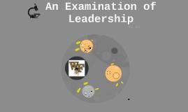 An Examination on Leadership