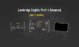 Cambridge English: First & Advanced
