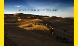 Intro al Antiguo Testamento