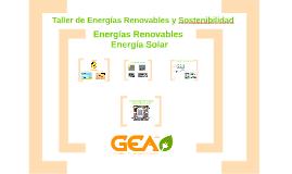 Taller 3: Energía Solar
