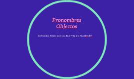 Pronombres Objec