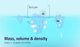 H2 P3 - Mass & volume - tto