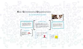 Non- Govermental Organizations