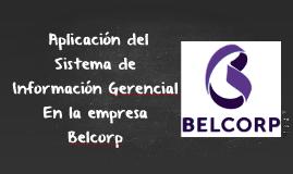Sistema Información Gerencial Belcorp