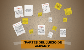 """""""PARTES DEL JUICIO DE AMPARO"""""""