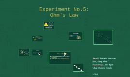 Experiment No.5: