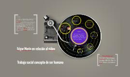 Trabajo social concepto de lo humano