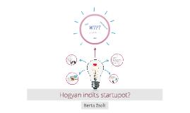 Hogyan építs startupot kisvállalkozás helyett?