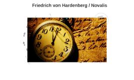 Friedrich von Hardenberg / Novalis