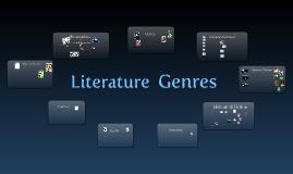 Copy of Literature Genres