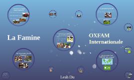 La Famine / OXFAM International