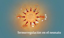 Termoregulación en el neonato