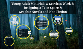 Week 5: Teen Space and graphic novels and non-fictioin