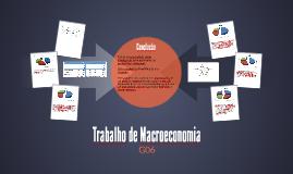 Trabalho de Macroeconomia