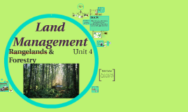 Unit 4: Land Management