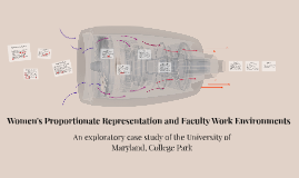The Proportionate Representation of Women in Academia