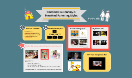 Emotional Autonomy and Perceived Parenting Styles