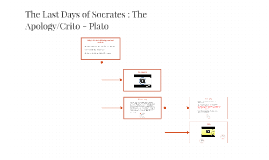 Copy of Copy of The Last Days of Socrates : The Apology/Crito - Plato