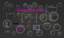 Ecology Study Game