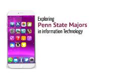 Exploring Penn State Majors