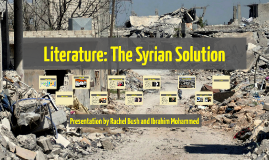 Copy of Literature: The Syrian Solution
