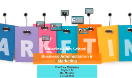 Business Administration in Marketing Research Project English IV