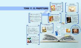 Copy of TEMA 17. EL PROFETISMO